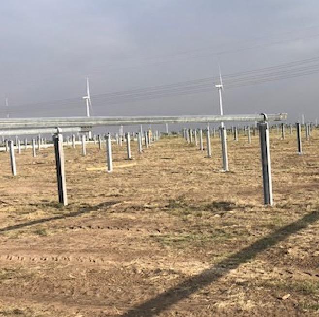 Solar Post Fabrication